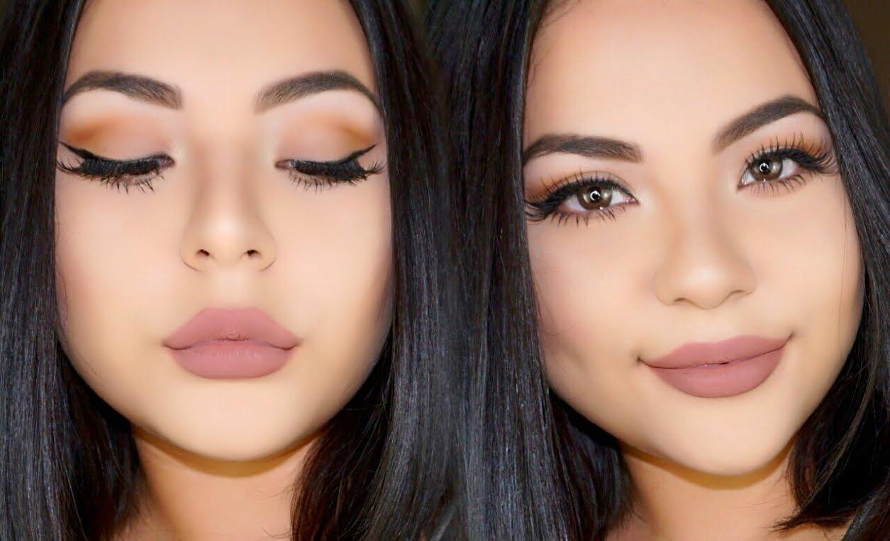 как сделать макияж в стиле нюд