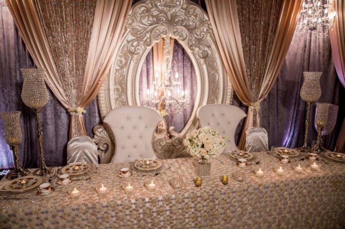 Декор свадьбы в викторианском стиле
