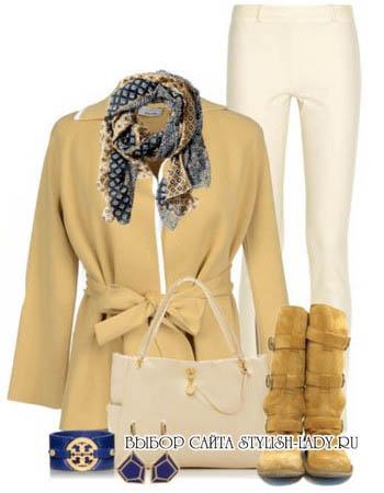 С чем носить желтые сапоги, фото
