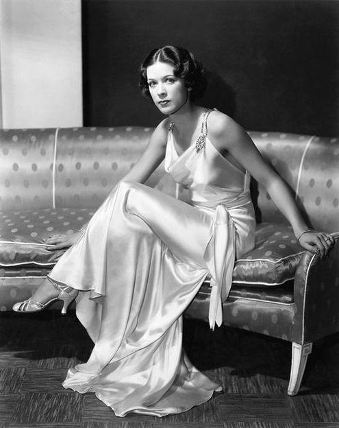 Платье 1930е