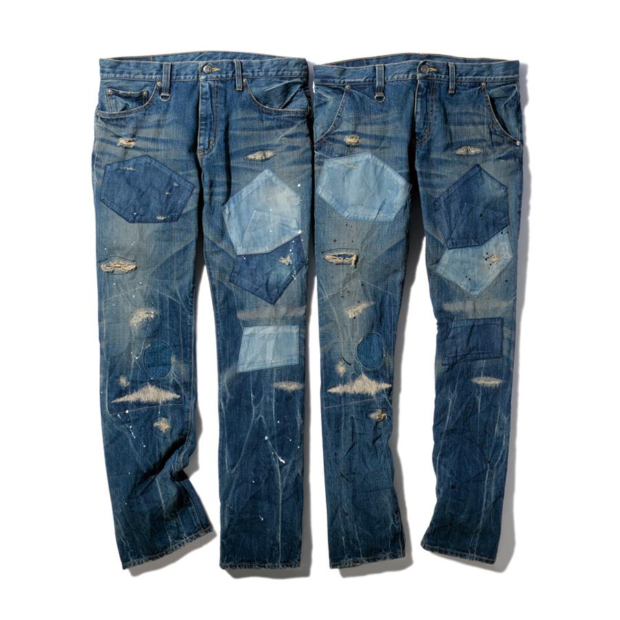 Интересные идеи заплаток на мужских джинсах