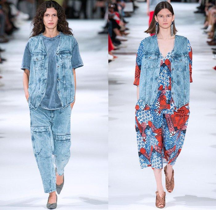 джинсовая жилетка высокая мода