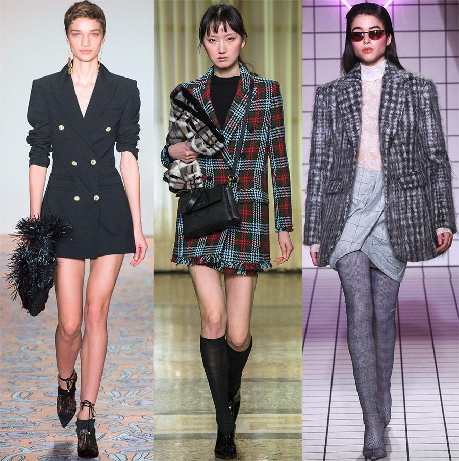 Фасоны женских пиджаков