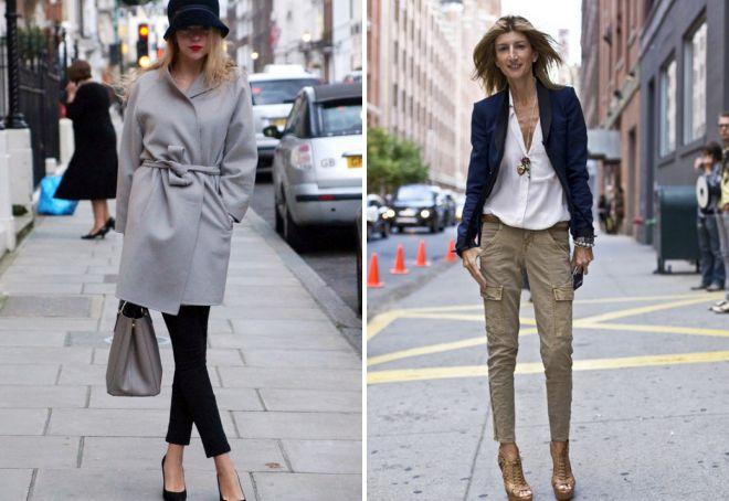 французский стиль в одежде для женщин 40