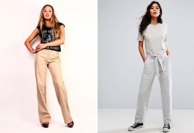 льняные брюки 2017