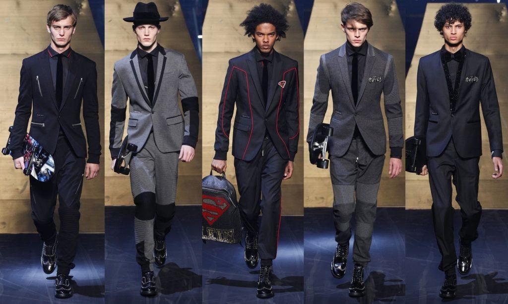 Комбинированные мужские пиджаки