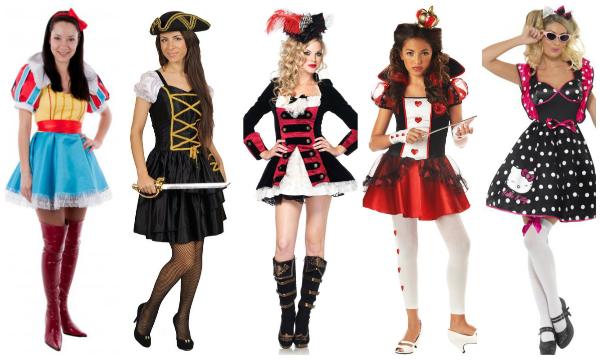 Новогодние костюмы для взрослых под различных персонажей