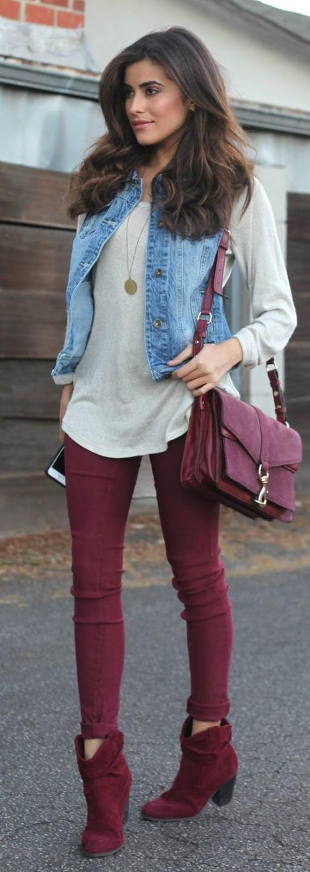 рубашка легкая джинсовый жилет