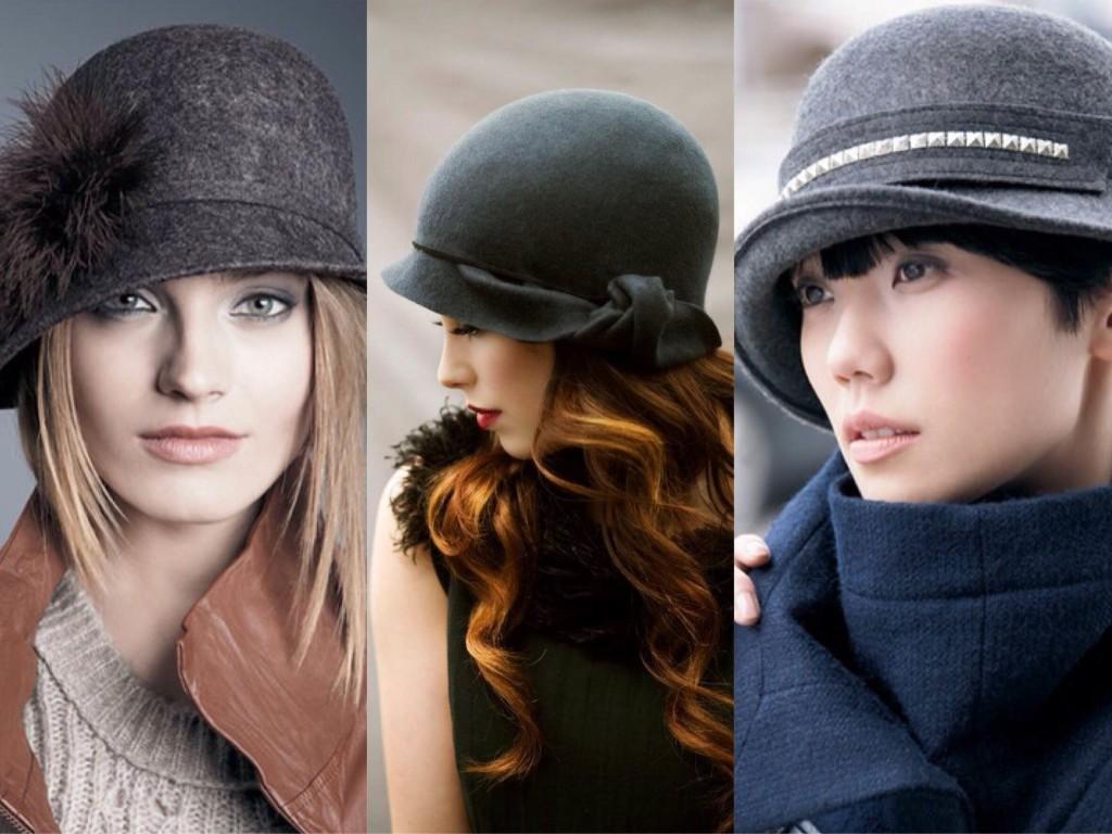 шляпа Cloche