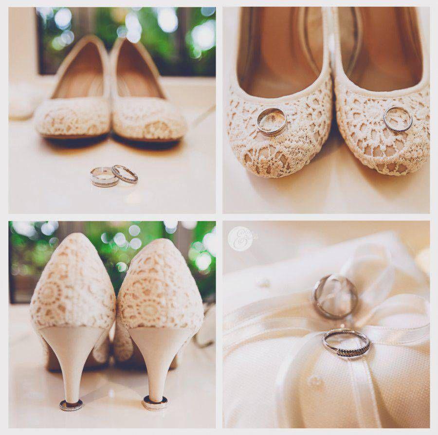 Сваденые туфли невесты