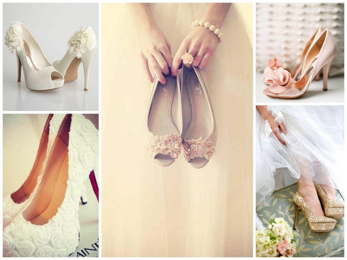 Удобные свадебные туфли