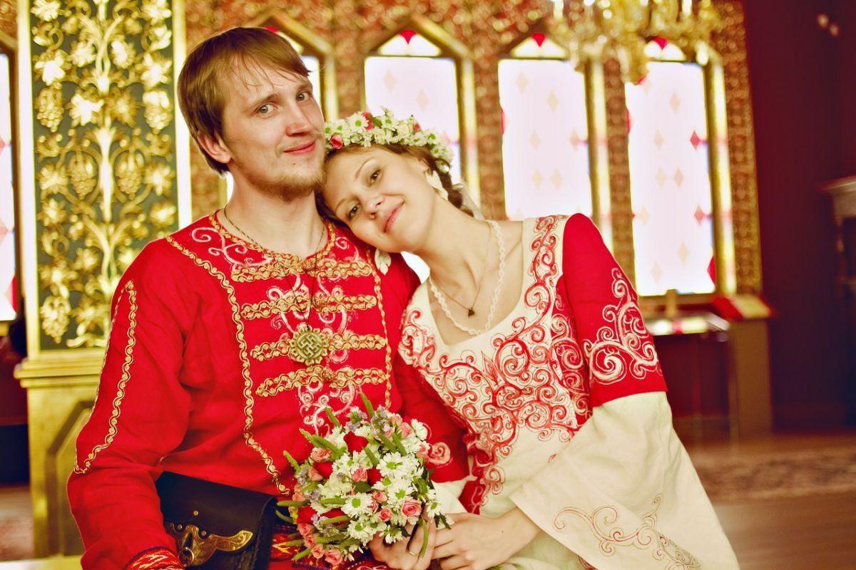 свадебное платье свадебное красное