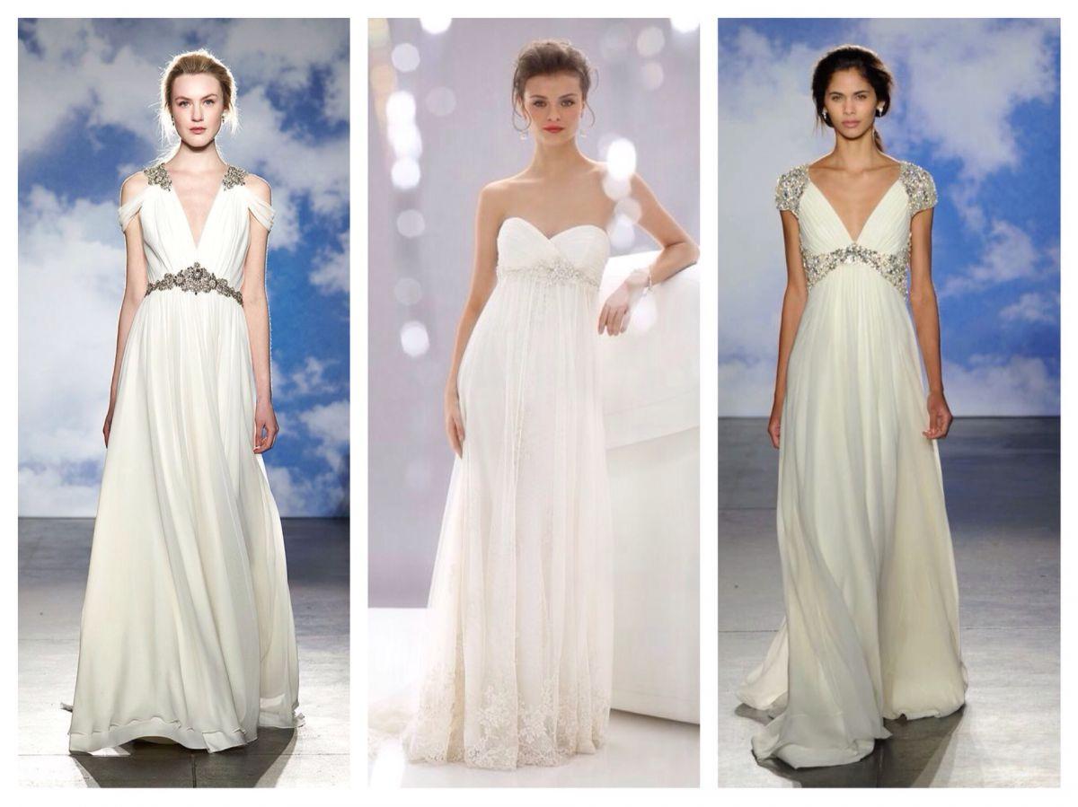 свадебные платья в стиле ампир 15