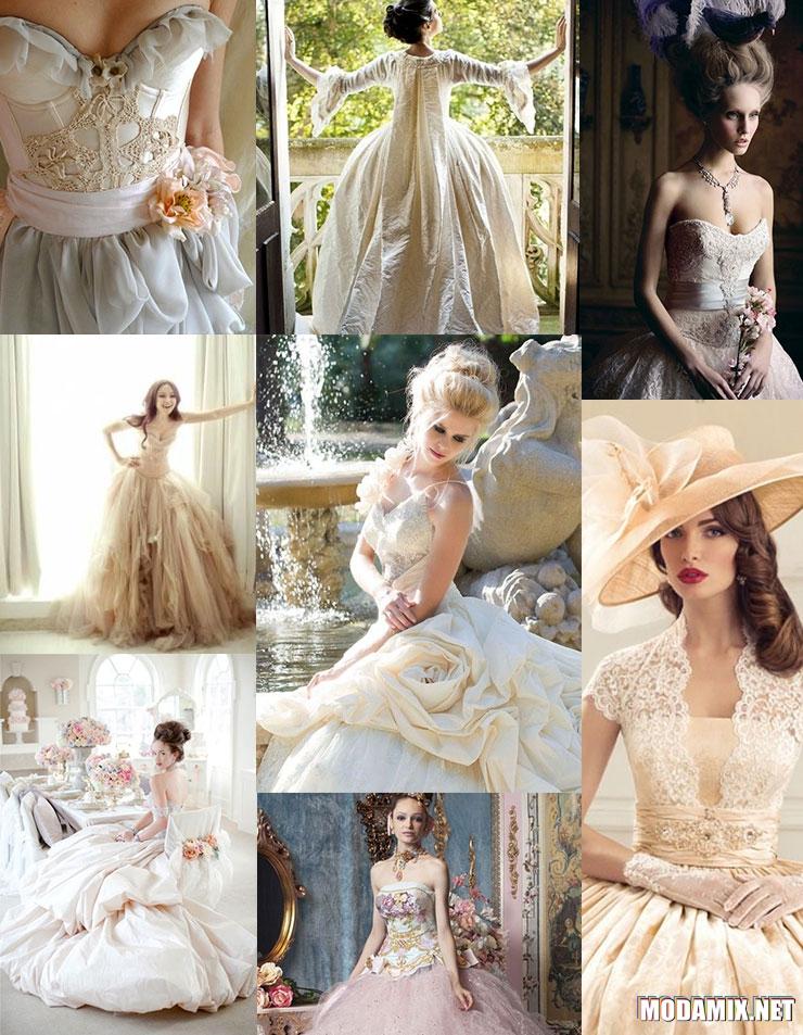 Свадебные платья в стиле Рококо