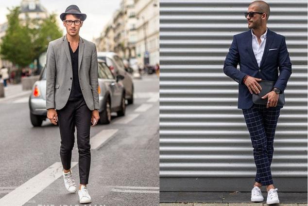 Кроссовки в стиле smart casual
