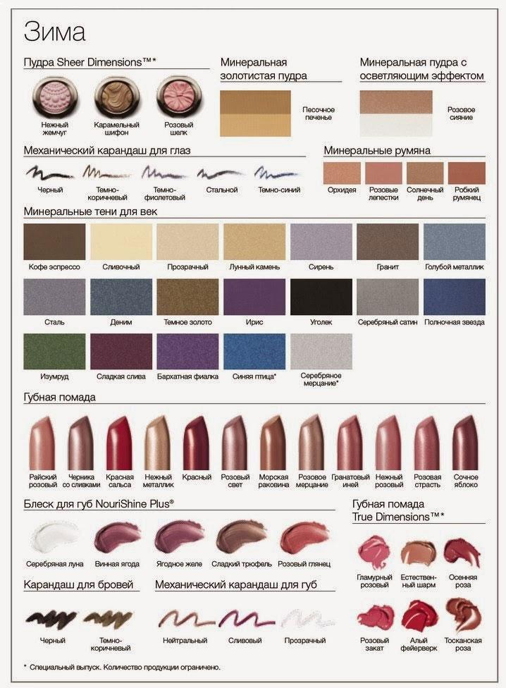 Лучшие оттенки макияжа: румяна, тени, карандаши