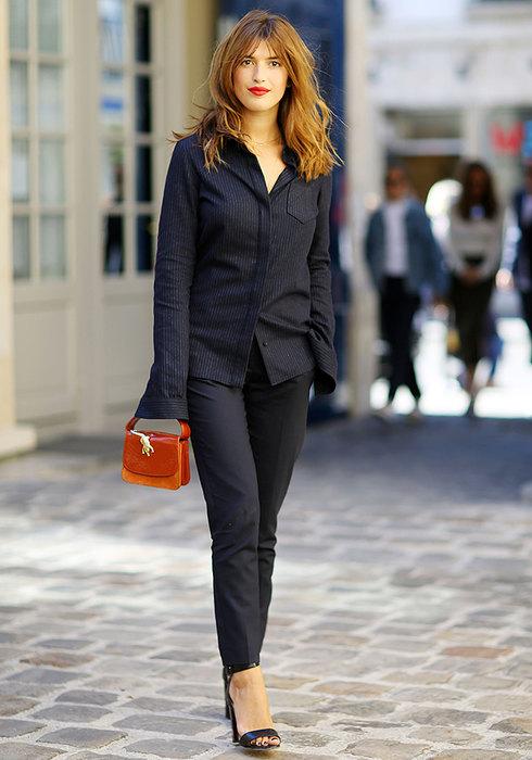 женские черные брюки какие вмоде