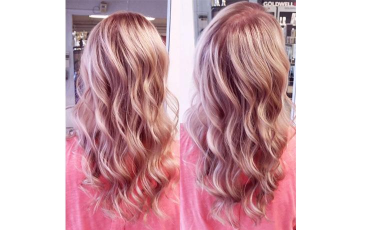 как покрасить волосы врозовый