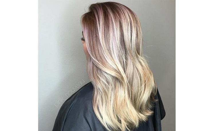 розовые волосы модное окрашивание