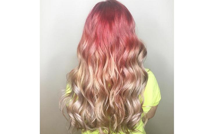 розовые волосы подборка фото