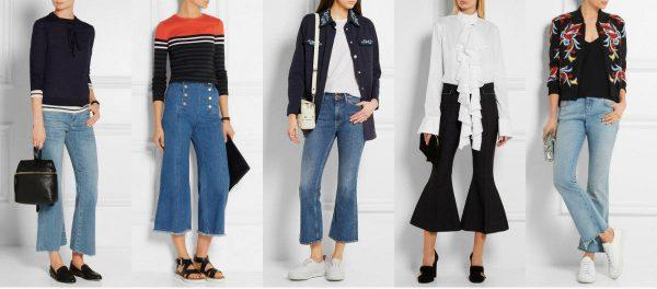 Брюки клеш – модный тренд 2019