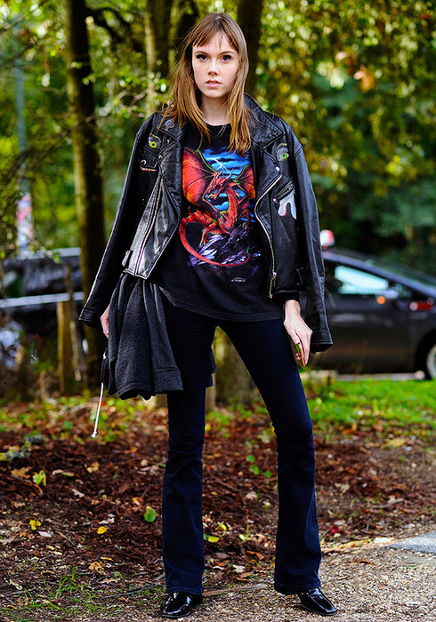 женские черные брюки счем носить фото