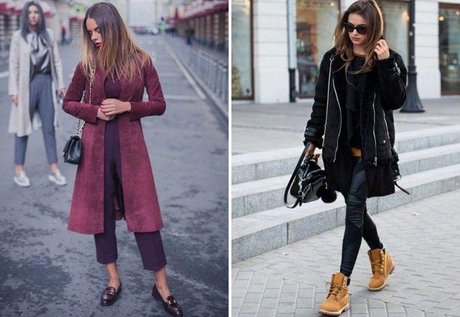 женские замшевые пальто