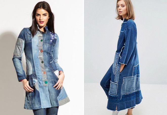 джинсовое пальто 2018