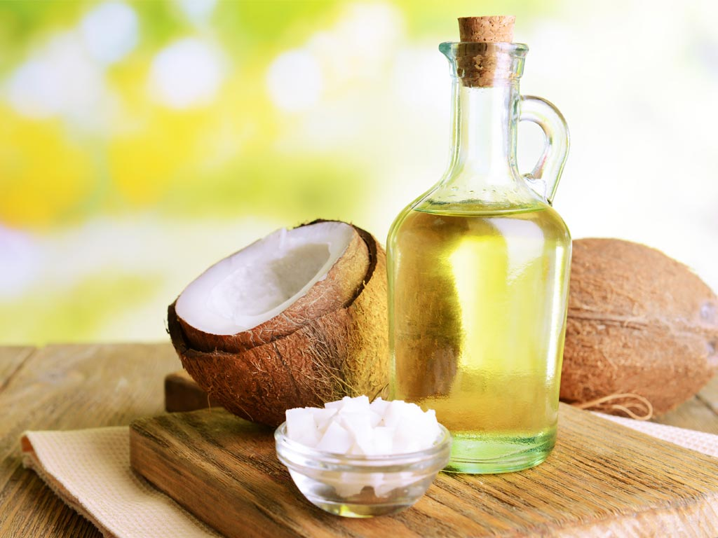 Кокос и рафинированное кокосовое масло