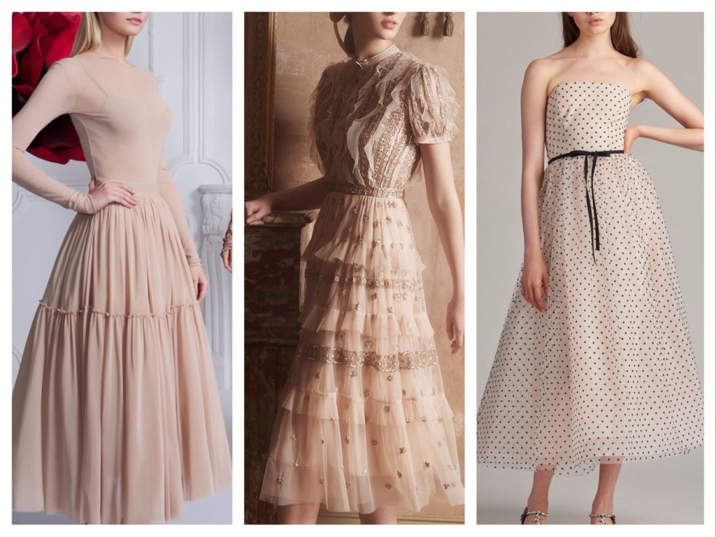 летящие платья