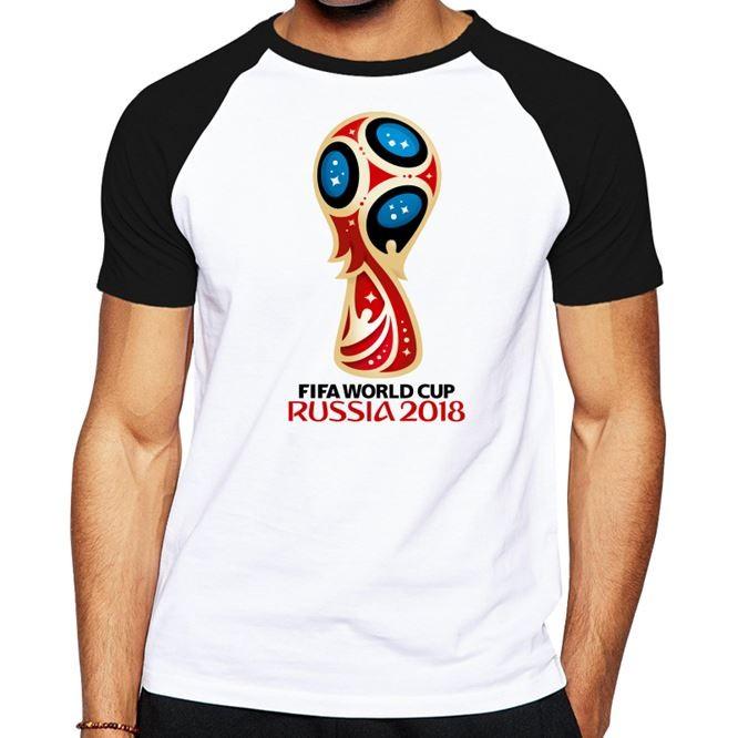 двухцветная футболка с футбольным принтом