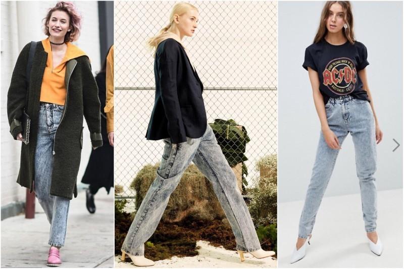 свободные джинсы варенки