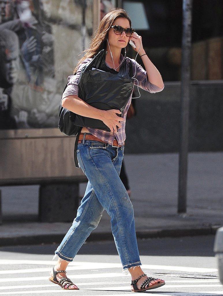 джинсы варенки короткие