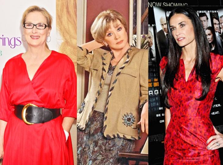 платье красное под широкий пояс пиджак бежевый и юбка коричневая красное платье