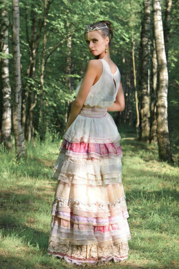 Платье А-силуэт фото