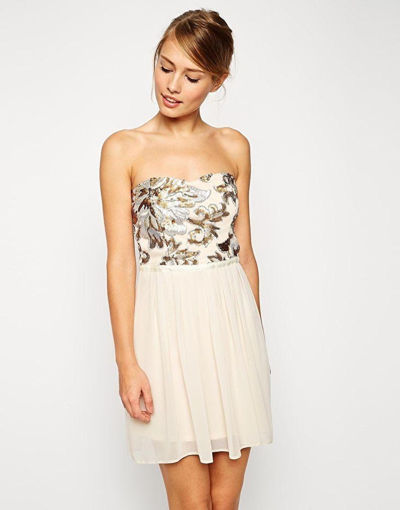 Украсить платье пайетками