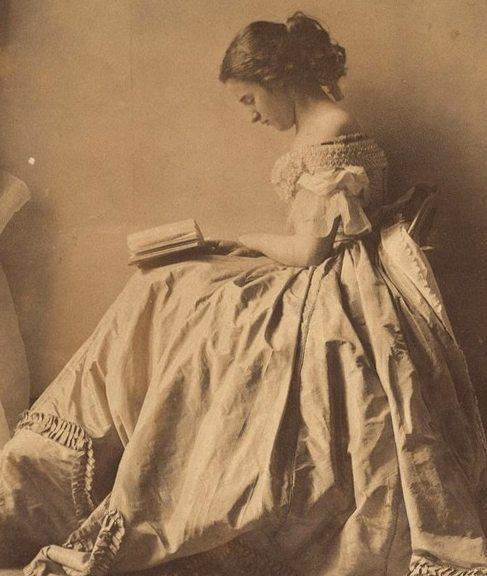 Дочь леди Клементины, 19-й век, платье в романтическом стиле