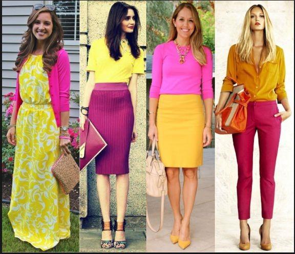 С каким цветом сочетается желтый цвет в одежде для женщин. Значение, кому подходит, с чем носить, фото вариантов комбинаций