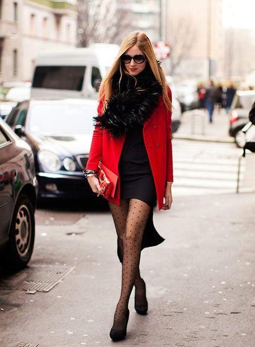 красный с чёрным