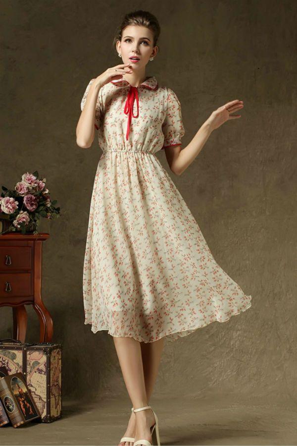 Платье с длинной чуть ниже колен фото