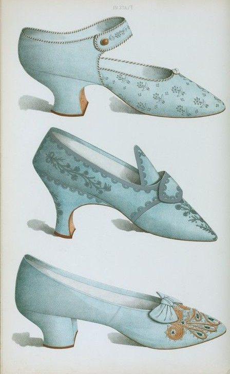 Туфли середины 19-го века