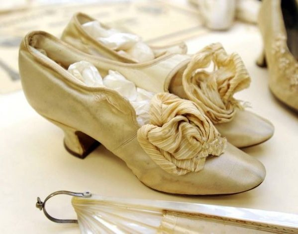 Свадебные туфли в романтическом стиле