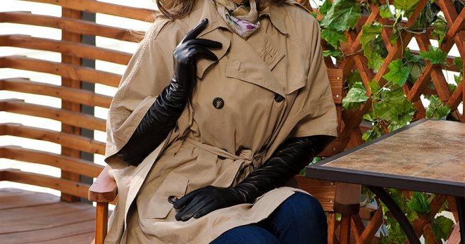 Женские длинные перчатки – как называются, как выбрать и с чем носить?