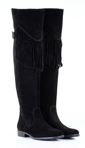 сапоги зимние чёрные с бахромой
