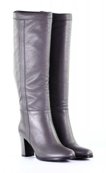 серые зимние сапоги на каблуке