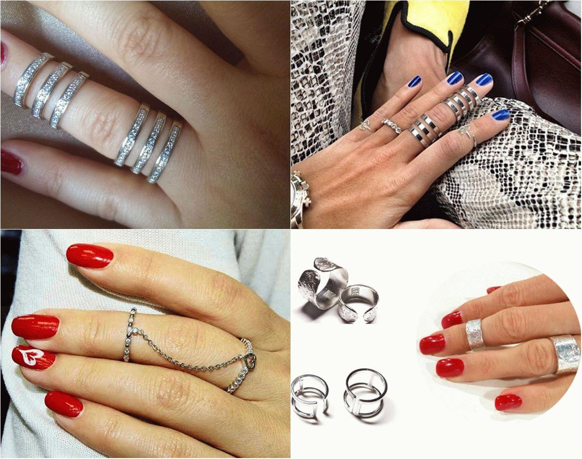 Модные кольца 2017 фото