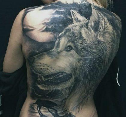 места для татуировок