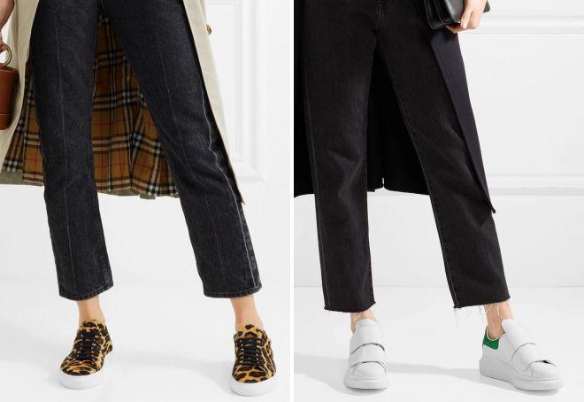 модные женские кеды 2018
