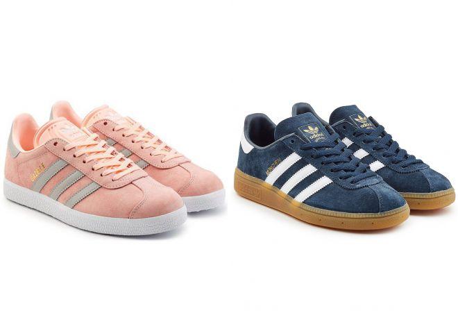 модные кеды adidas