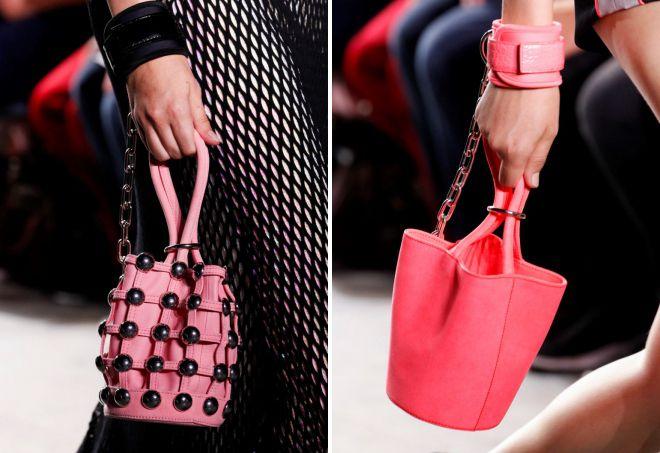 женская маленькая сумка мешок